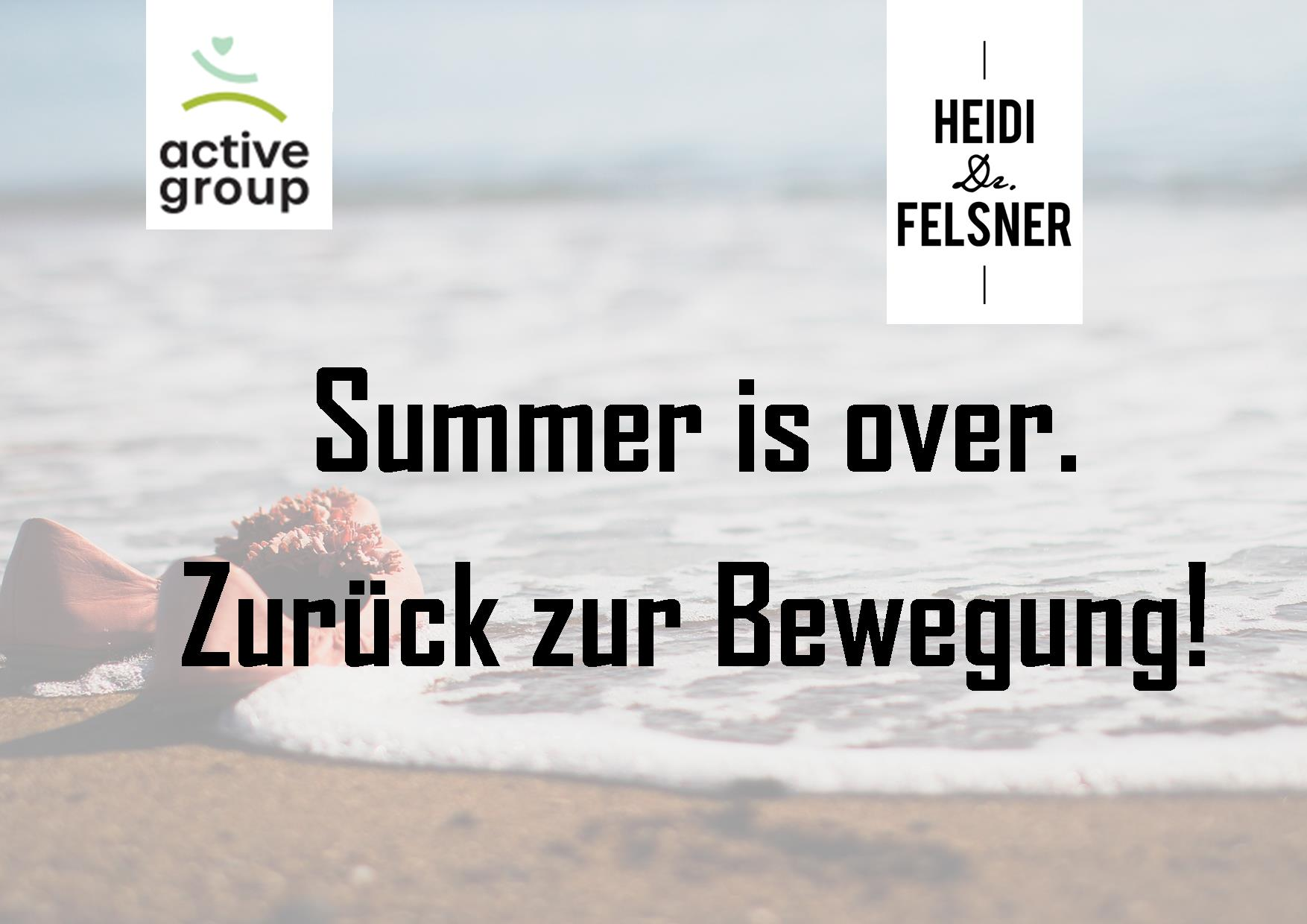 Read more about the article Summer is over.